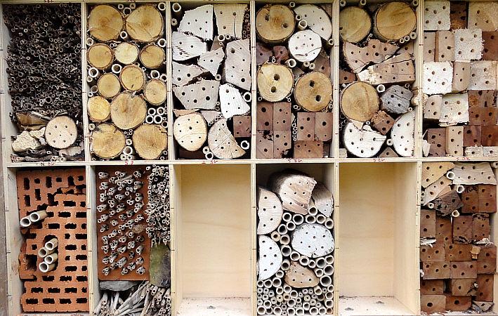 insektenhotel bewohner bilder die sch nsten. Black Bedroom Furniture Sets. Home Design Ideas